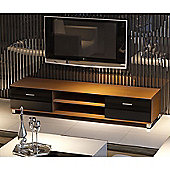 32 To 70 Inch LED/LCD/Plasma MDF TV Stand - Oak & Black