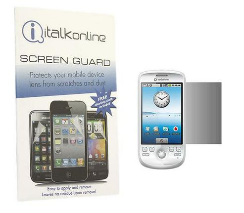 S-Protect LCD Screen Protector & Micro Fibre Cleaning Cloth - HTC G2 Magic