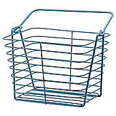 Tesco Blue Wire Basket