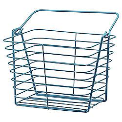 Tesco Blue Wire Basket