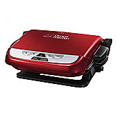 George Foreman 21611 5 Portion, Health Grill, 1700W, with Timer, in Red