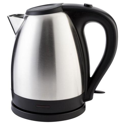 buy tesco jug kettle 1 7l stainless steel from our jug. Black Bedroom Furniture Sets. Home Design Ideas