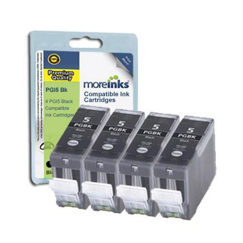 4 Compatible Ink Cartridges for Canon Pixma MP810 - Black (Capacity: 112 ml)