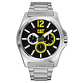 CAT DP XL Mens Stainless Steel Black Steel Watch - PK.149.11.137