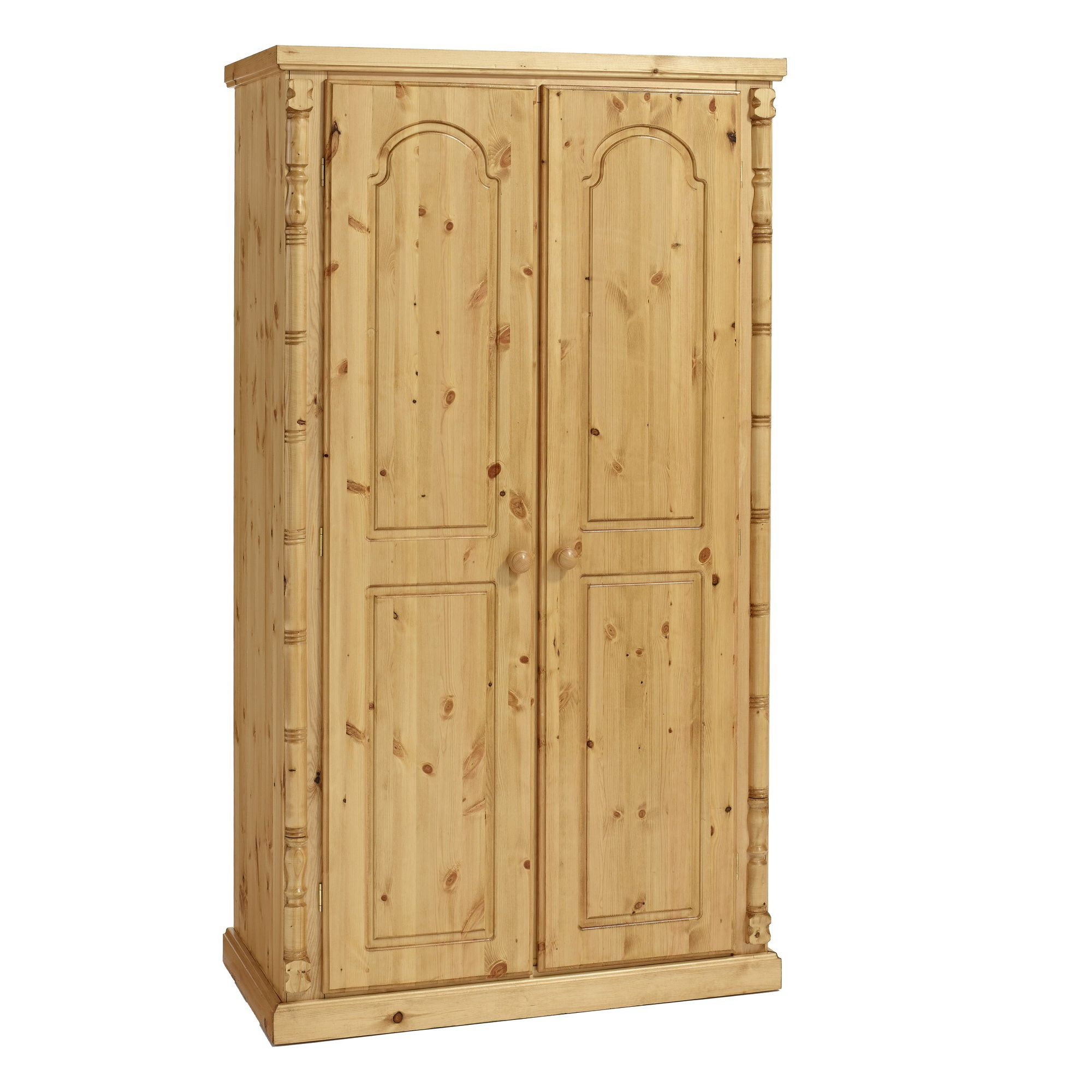 Ideal Furniture Ashley 2 Door Plain Wardrobe at Tesco Direct