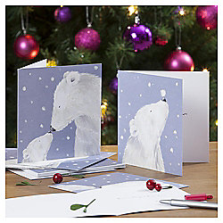 Polar Bear Christmas Cards, 10 pack