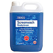 Tesco 5L Screenwash