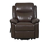 GFA Oxford Faux Leather Riser Recliner