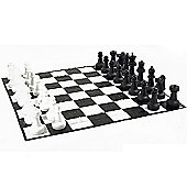 Giant Chess Pieces and Mat Package