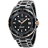 LTD Gents 2-Tone Ceramic Watch LTD-031703 LTD-031703