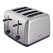 Kenwood TTM480 4 Slice Toaster in Brushed & Polished Metal & Adjustable Browning