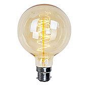 60W BC B22 Vintage Edison Filament Style Globe Bulb
