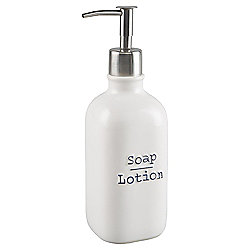 Tesco Debossed Word Soap Dispenser