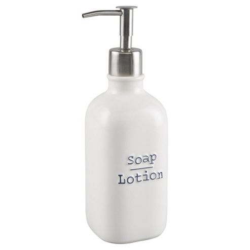 Buy Tesco Debossed Word Soap Dispenser From Our Wall