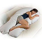 PreciousLittleOne 12ft Body & Baby Support Pillow (White)