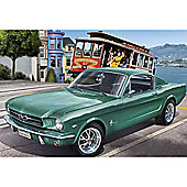 Revell 1965 Ford Mustang 2+2 Fastback 1:24 Car Model Kit - 07065