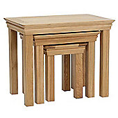 Normandy Oak Nest of Tables