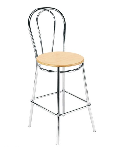 buy nowy styl tulipan hocker wood bar stool from our bar. Black Bedroom Furniture Sets. Home Design Ideas
