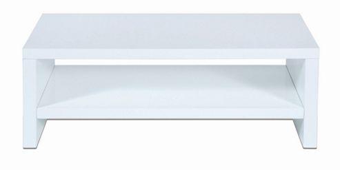 LEVV High Gloss TV Stand - High Gloss White