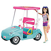 Barbie Golf Cart Skipper