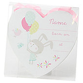 Baby Girl Plaque