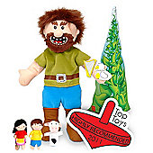 Fiesta Crafts Jack and the Beanstalk Hand and Finger Puppets