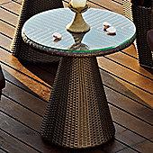 Varaschin Tulip Coffee Table by Varaschin R and D - Bronze - 60 cm H x 60 cm W x 60 cm D