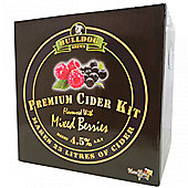 Bulldog 'Premium Cider' (ABV 4.5%) 40 pint Mixed Berry Cider kit
