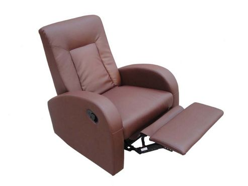 Home Zone Miami Recliner in Brown