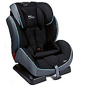 Tippitoes Junior Crew 1,2,3 Car Seat (Black/Grey)