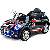 Caretero Maxi Battery Operated Ride-On Car (Black)