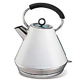 Morphy Richards 43951 1.5 litre Elipta Stainless Steel Traditional Kettle White