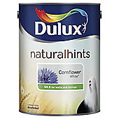 Dulux Silk Emulsion Paint, Cornflower White, 2.5L