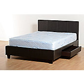 Home Essence Prado Bed Frame - 2 Drawers