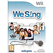 We Sing - Solus Game Only - NintendoWii