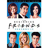 Friends Season 1-3 (DVD)