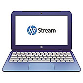 HP Stream 11-d010na 11.6-inch Laptop, Intel Celeron,  2GB RAM, 32GB eMMC - Blue