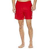 Speedo Plain Swim Shorts - Red