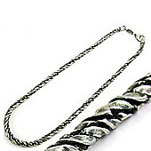 Mens Bico Australia Ribbed Stylus Neck Chain