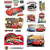 Disney Cars, 36 Wall Stickers - Quick Sticks