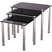 VonHaus 3x Nesting Tables Set
