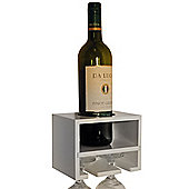 Techstyle Wall Wine Rack - White