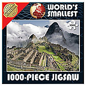 World's Smallest 1000 Piece Jigsaw Machu Picchu