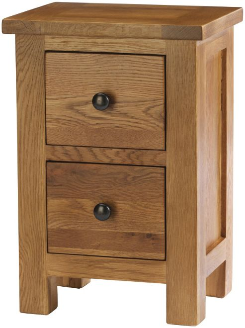 Buy Auckland Solid Oak And Pine Bedside Table From Our Bedside Chests T