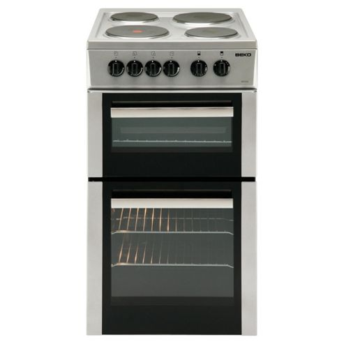 Beko BD532AS Cooker Silver