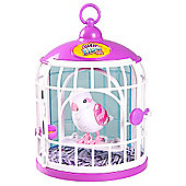 Little Live Pets Bird Cage with Bella Rina