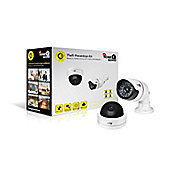 HomeGuard DCK6058 Dummy 2 Camera Theft Prevention Kit