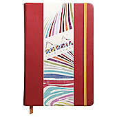 Rhodia Lined A5 Notebook, Poppy Red
