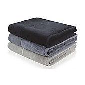 Möve Bamboo Luxe Towel (Set of 2) - 50cm x 100cm - Stone