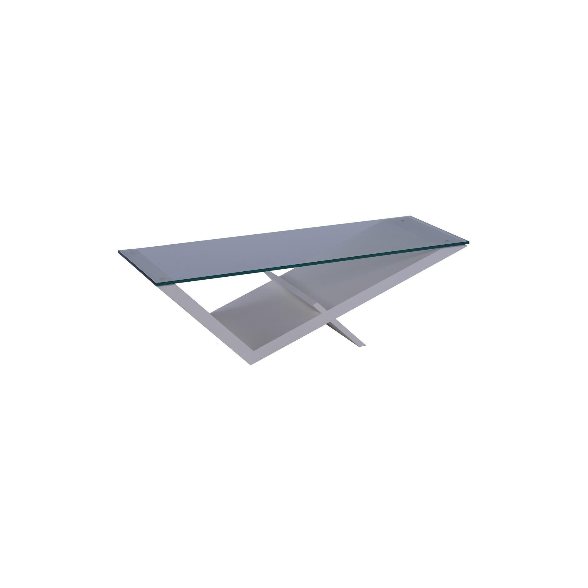 Gillmore Space Gerrit Coffee Table - White Lacquer (Matt) at Tesco Direct